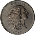 Large Cents, 1793 1C Wreath, Vine and Bars Edge. XF45 PCGS. S-6, B-7, R.3. ...
