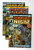 Bronze Age (1970-1979):Horror, Dead of Night Group (Marvel, 1973-75) Condition: Average VF/NM....(Total: 6 Comic Books)