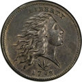 Large Cents, 1793 1C Wreath, Vine and Bars Edge. MS62 Brown PCGS. S-8, B-13,R.3. ...
