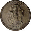 Large Cents, 1793 1C Wreath, Lettered Edge. AU58 PCGS. S-11c, B-16c, R.3. ...