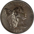 Large Cents, 1794 1C Head of '93. MS63 Brown PCGS. S-18b, B-2b, R.4. ...