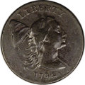 Large Cents, 1794 1C Head of '93. VF30 PCGS. S-19a, B-3a, High R.5. ...