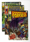 Bronze Age (1970-1979):Horror, Chamber of Darkness Group (Marvel, 1969-70) Condition: AverageVF/NM.... (Total: 7 Comic Books)