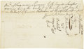 Autographs:Statesmen, [Israel Putnam] Oliver Ellsworth, Thomas Seymour, and WilliamPitkin Manuscript Document Signed...