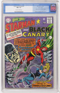 Silver Age (1956-1969):Superhero, The Brave and the Bold #61 Starman and Black Canary - Pacific Coast pedigree (DC, 1965) CGC NM+ 9.6 Off-white to white pages....