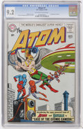 Silver Age (1956-1969):Superhero, The Atom #7 (DC, 1963) CGC NM- 9.2 Off-white to white pages....