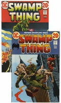 Bronze Age (1970-1979):Horror, Swamp Thing #2 and 3 Group (DC, 1973) Condition: Average NM....(Total: 2 Comic Books)