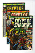 Bronze Age (1970-1979):Horror, Crypt of Shadows Group (Marvel, 1973-75) Condition: Average NM....(Total: 11 Comic Books)