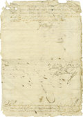 Autographs:Non-American, King Charles II of Spain Document Signed,...