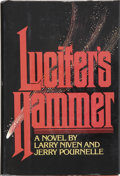 Books:Signed Editions, Larry Niven and Jerry Pournelle. Lucifer's Hammer. Chicago: Playboy Press, 1977....