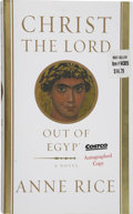Books:Signed Editions, Anne Rice. Christ the Lord Out of Egypt. New York: Alfred A. Knopf, 2005....