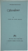 Books:First Editions, Spider and Jeanne Robinson. Stardance. New York: The DialPress/ James Wade, 1979....
