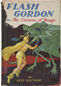 Books:First Editions, Alex Raymond. Flash Gordon in the Caverns of Mongo. NewYork: Grosset & Dunlap, 1936....