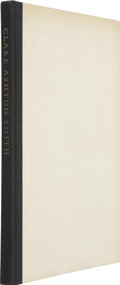 Books:First Editions, Clark Ashton Smith. The Hills of Dionysus: A Selection.Pacific Grove: [No publisher stated], 1962.. ...
