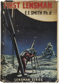Books:First Editions, Edward E. Smith. First Lensman. London: T. V. Boardman &Co., 1955.. ...