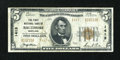 National Bank Notes:Maryland, Baltimore, MD - $5 1929 Ty. 2 The First NB Ch. # 1413. ...