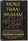 Books:First Editions, Theodore Sturgeon. More Than Human. New York: Farrar, Strausand Young, 1953.. ...