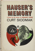 Books:Signed Editions, Curt Siodmak. Hauser's Memory. New York: G. P. Putnam's Sons, 1968.. ...