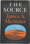 Books:First Editions, James A. Michener. The Source. New York: Random House,1965.. ...