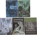 Books:First Editions, August Derleth. Five First Editions, including: SomethingNear; The Mask of Cthulhu; The Trail of Ct... (Total:5 Items)