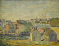 Fine Art - Painting, American:Modern  (1900 1949), Attributed to MAX KUEHNE (American, 1880-1986). GlouchesterHarbor. Oil on artist's board. 8 x 10 inches (20.3 x 25.4 cm...