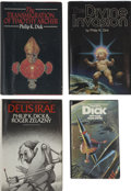 Books:First Editions, Philip K. Dick. Three First Editions, One with a SignedBookplate,... (Total: 3 Items)