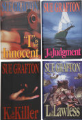 "Books:First Editions, Sue Grafton. Four First-Edition ""Alphabet Novels,"" including:""I"" is for Innocent; ""J"" is for Judgment; ...(Total: 4 Items)"