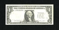 Error Notes:Third Printing on Reverse, Fr. 1915-F $1 1988A Federal Reserve Note. Extremely Fine-About Uncirculated.. ...