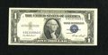 Error Notes:Shifted Third Printing, Fr. 1614 $1 1935E Silver Certificate. Very Fine.. ...