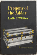 Books:First Editions, Leslie H. Whitten. Progeny of the Adder. Garden City, NewYork: Published for The Crime Club by Doubleday & Company,...