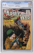 Golden Age (1938-1955):War, Our Army at War #39 (DC, 1955) CGC VG/FN 5.0 Cream to off-whitepages....