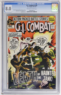 G.I. Combat #150 (DC, 1971) CGC VF 8.0 Off-white to white pages
