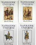 Books:Non-fiction, John R. Elting. Napoleonic Uniforms, in Four Volumes....(Total: 4 Items)
