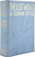 Books:First Editions, Arthur Conan Doyle. The Lost World. Being anaccount of the recent amazing adventures of Professor George E.C...