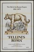 "Movie Posters:Drama, Fellini's Roma (United Artists, 1972). One Sheet (27"" X 41""). Drama...."