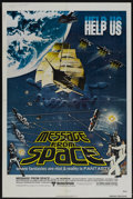 """Movie Posters:Science Fiction, Message from Space (United Artists, 1978). One Sheet (27"""" X 41""""). Science Fiction...."""
