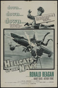 "Movie Posters:War, Hellcats of the Navy (Columbia, 1957). One Sheet (27"" X 41"").War...."