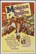 "Movie Posters:Adventure, Morgan the Pirate (MGM, 1961). One Sheet (27"" X 41""). Adventure...."