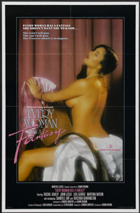 """Every Woman Has a Fantasy (VCA, 1984). Poster (24"""" X 36.5""""). Adult"""