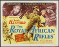 "Movie Posters:Adventure, The Royal African Rifles (Allied Artists, 1953). Half Sheet (22"" X28""). Adventure...."