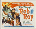 """Movie Posters:Adventure, Rob Roy, the Highland Rogue (RKO, 1954). Half Sheet (22"""" X 28"""")Style A. Adventure...."""
