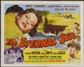 "Movie Posters:War, The Eternal Sea (Republic, 1955). Half Sheet (22"" X 28"") Style B.War...."