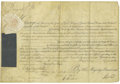 Autographs:Non-American, King George III Document Signed...