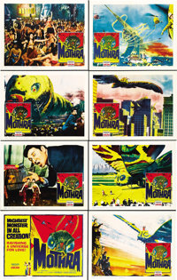 """Mothra (Columbia, 1962). Lobby Card Set of 8 (11"""" X 14"""").... (Total: 8 Items)"""