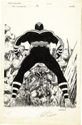 Original Comic Art:Covers, Keith Pollard - Vigilante #3 Cover Original Art (DC, 1984)....