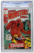Bronze Age (1970-1979):Horror, Where Monsters Dwell #5 (Marvel, 1970) CGC NM+ 9.6 Off-white to white pages....