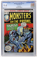 Bronze Age (1970-1979):Horror, Monsters on the Prowl #25 (Marvel, 1973) CGC NM 9.4 Off-whitepages....