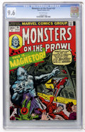 Bronze Age (1970-1979):Horror, Monsters on the Prowl #24 (Marvel, 1973) CGC NM+ 9.6 Off-whitepages....