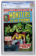 Bronze Age (1970-1979):Horror, Monsters on the Prowl #21 (Marvel, 1973) CGC NM 9.4 Off-whitepages....