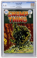 Bronze Age (1970-1979):Horror, Swamp Thing #9 (DC, 1974) CGC NM 9.4 Off-white to white pages....